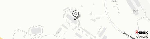 УглеСнаб на карте Бийска