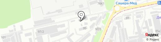Ниагара на карте Бийска