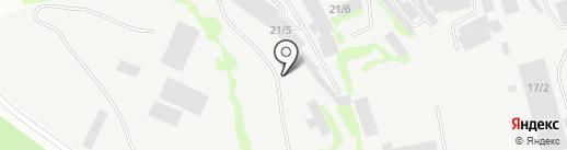 Спецкомплект на карте Бийска