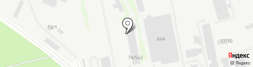 УниверсалСтрой на карте Бийска
