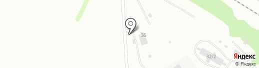 Вторснаб-Ресурс на карте Бийска