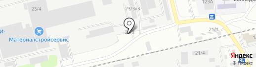 Экатэ-пром на карте Бийска