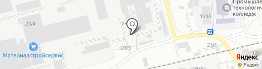 Рэд Лайн на карте Бийска