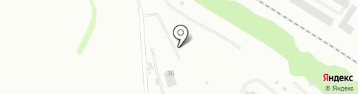 Терминал на карте Бийска
