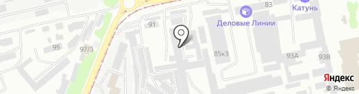 Классик на карте Бийска