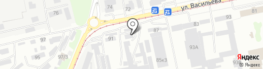 Центр ПромТехресурс, КГБУ на карте Бийска