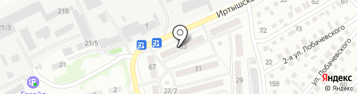 Samuraj Sushi на карте Бийска