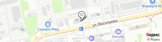 Олимп на карте Бийска