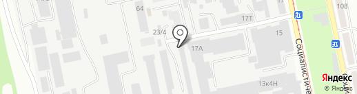 СпецАвто на карте Бийска