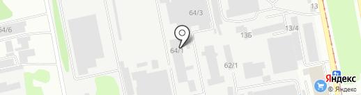 Промобеспечение на карте Бийска