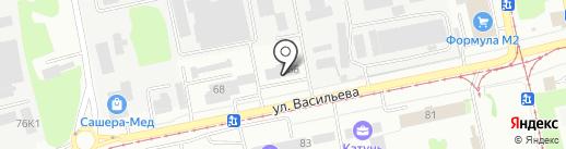 АЛМА на карте Бийска