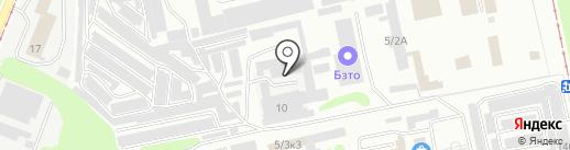 Спецавтоматика, ЗАО на карте Бийска