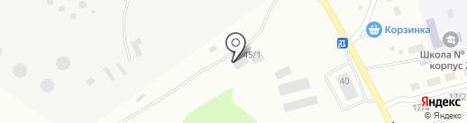 Стройка на карте Бийска