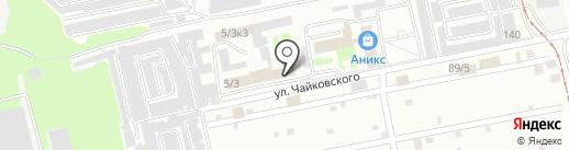 Агентство юридических услуг на карте Бийска