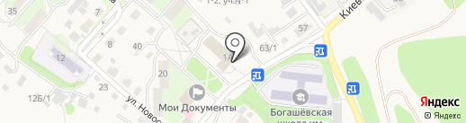 Томск Электротехобслуживание на карте Богашёво