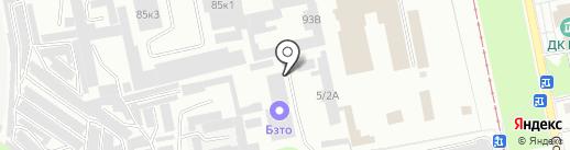 Билюкс на карте Бийска