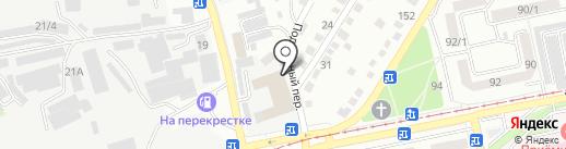 Русский лес на карте Бийска