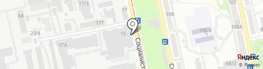 Торговый Дом МСК на карте Бийска