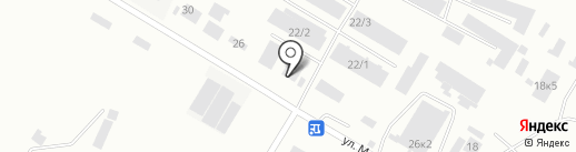 Алтайэнерго на карте Бийска