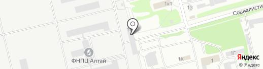 Спецтехника, ЗАО на карте Бийска