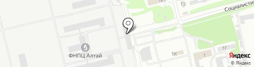 Ремонтная мастерская на карте Бийска