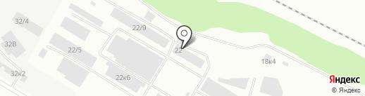 Строймир на карте Бийска
