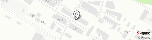 Бэст Фрут на карте Бийска