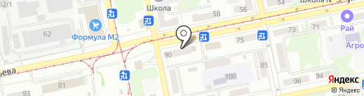 Альфа мастер на карте Бийска