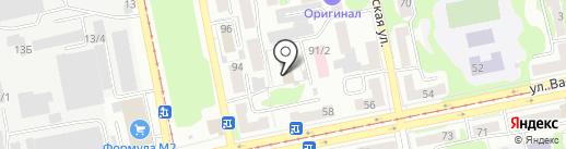 Отдел вневедомственной охраны по г. Бийску на карте Бийска