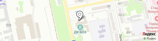 Клуб шейпинга на карте Бийска