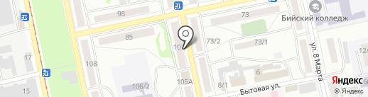 ЭКОНОМ-ярмарка на карте Бийска