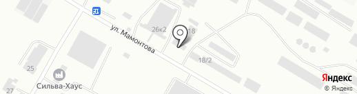 Цемент центр на карте Бийска