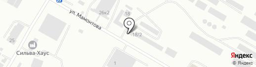АгроБийскПереработка на карте Бийска
