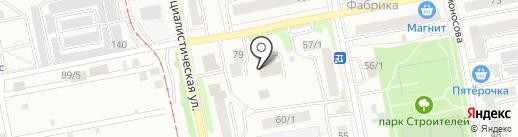 Земляки на карте Бийска