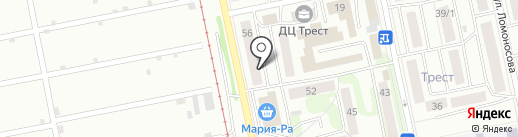 Экспресс-Медиа на карте Бийска
