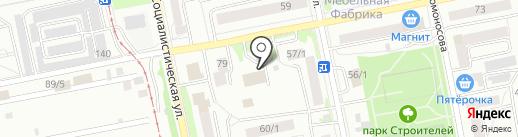 Электрон-Сервис на карте Бийска
