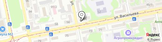Школа ремонта на карте Бийска