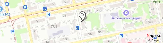 БЕРЛИ на карте Бийска
