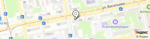 Моторесурс на карте Бийска