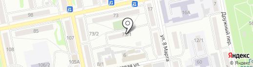 КАРАТ, ТСЖ на карте Бийска