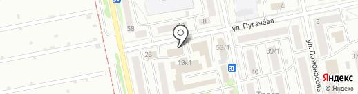 Прана на карте Бийска