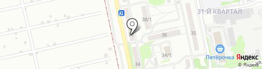 Турбо на карте Бийска