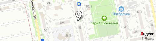 Горячий хлебушек на карте Бийска