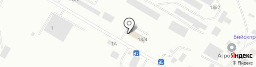 АкТан на карте Бийска