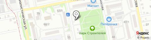 Киндерлэнд на карте Бийска