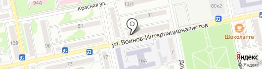 Профи Стиль на карте Бийска
