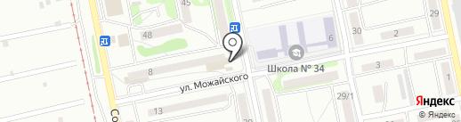 Почтовое отделение №16 на карте Бийска