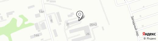 Котельно-промышленная компания на карте Бийска