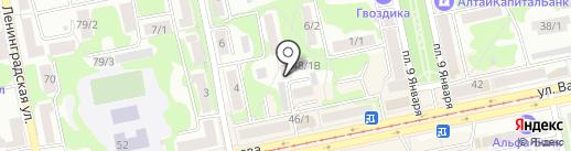Альянс Мебель на карте Бийска