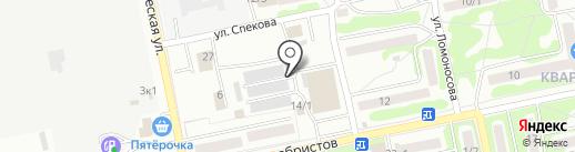 Сити-сервис на карте Бийска